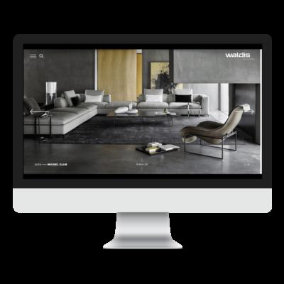 Waldis Ag Website - Desktop Version