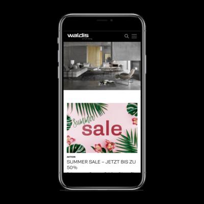Waldis Ag - Mobile View